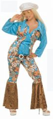 Velvet Hippy Ladies Costume XL (3172)